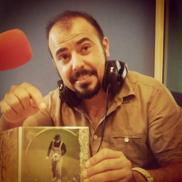 Promoción en Radio con el disco